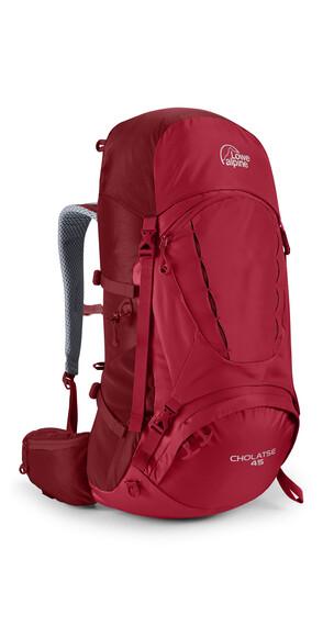 Lowe Alpine Cholatse 45 wandelrugzak Heren rood